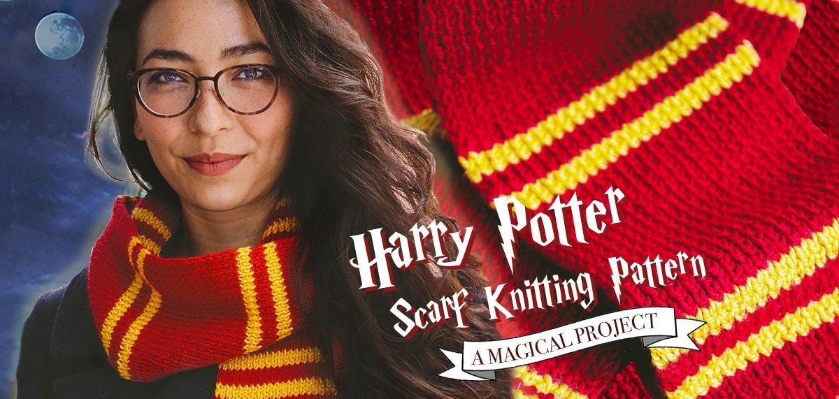 girl wearing Harry Potter scarf