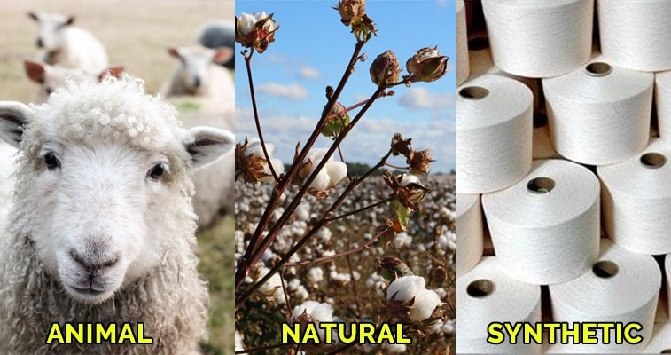 types of fibers that can be used with the Russian Join