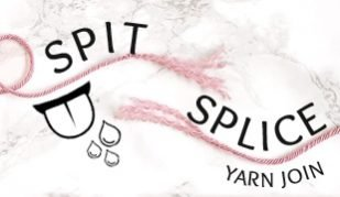 joing yarn with spit splice