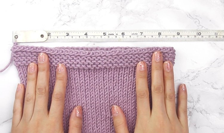 stretchy bind off test