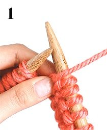 purl stitch how to knit