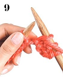 purl stitch how to