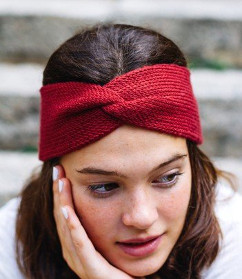 Twist Headband knitting pattern