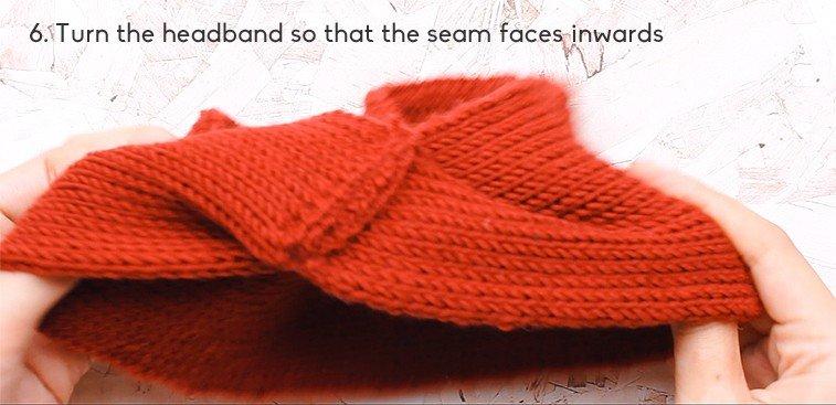 seam headband
