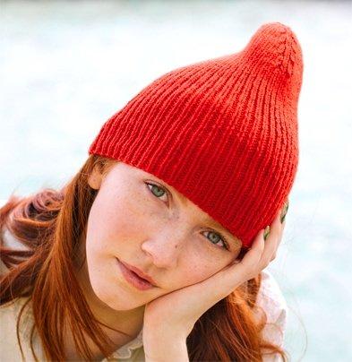 ribbed hat free knitting pattern