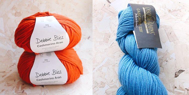rib hat knitting yarn