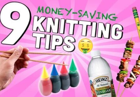how to save money on yarn and knitting